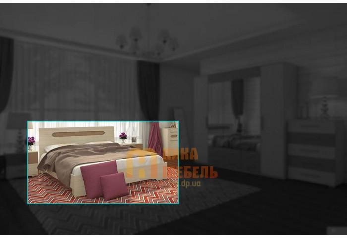 никамебель купить кровать модульная спальня сандра цена кровать